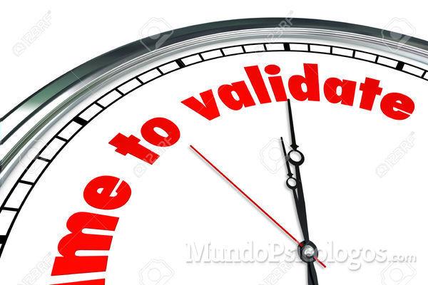 La validación y la queja