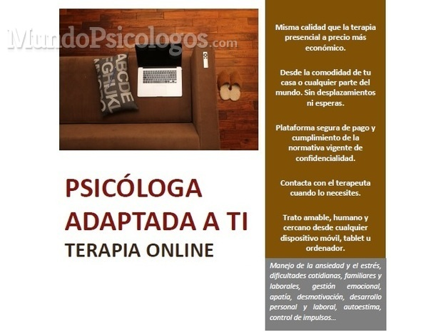 BENEFICIOS TERAPIA ONLINE